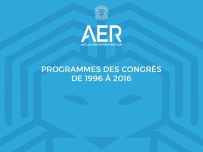Image - archives congrès aer de 1996 à 2016